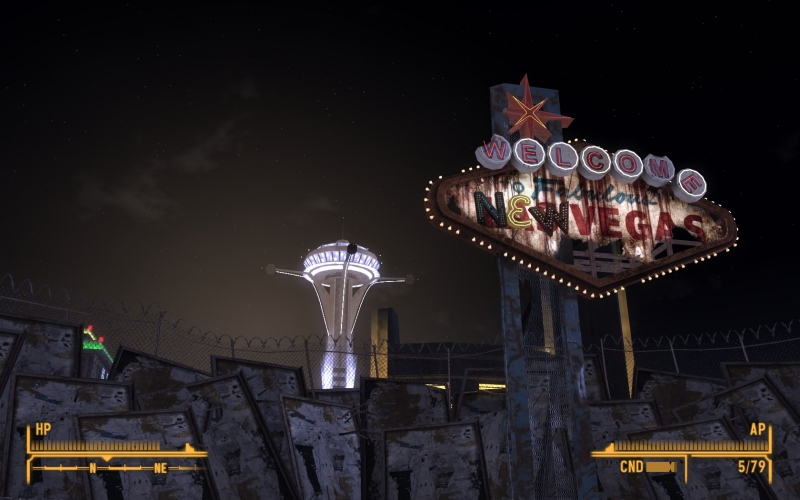 The only free thing in New Vegas is the view of its light. The poor can choke on the wall if they want.