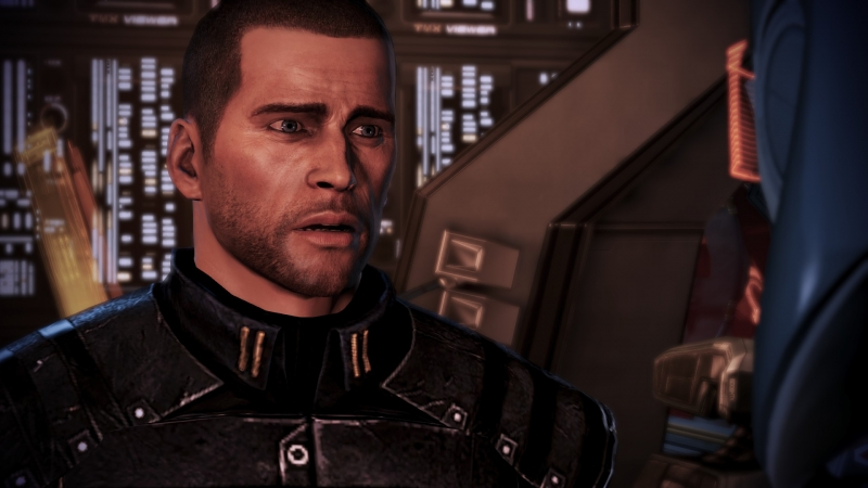 Shepard just shat his pants.