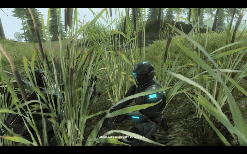 Yup, cinematics should just hide in the brush.
