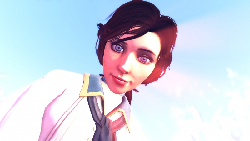Elizabeth is the most expressive video game character I have ever seen.