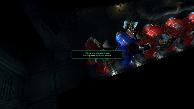 Yes, it is indeed the Space Marine Conga Line of Doom.
