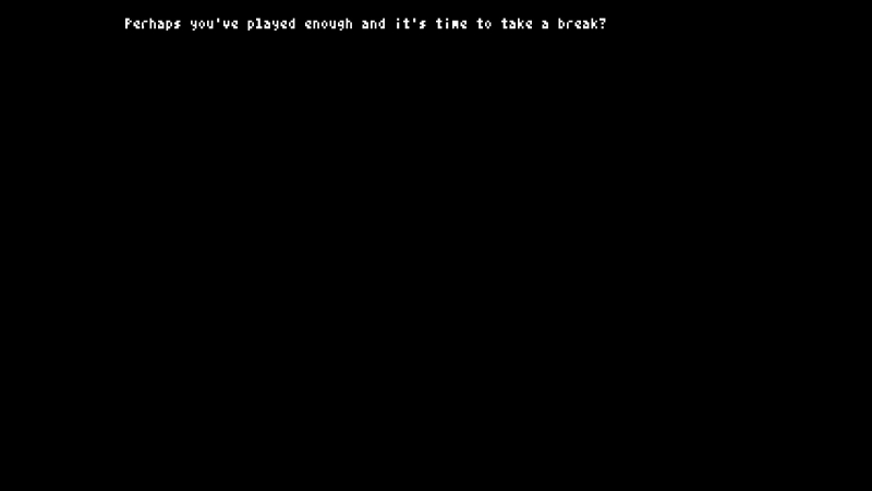 A typical death screen. You read my mind, game!