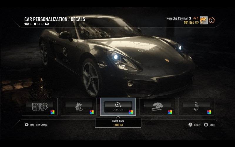 While not extremely in depth, you have enough options to make your cars your own.