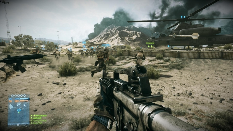 That's what battlefield is all about – massive battles with loads of people