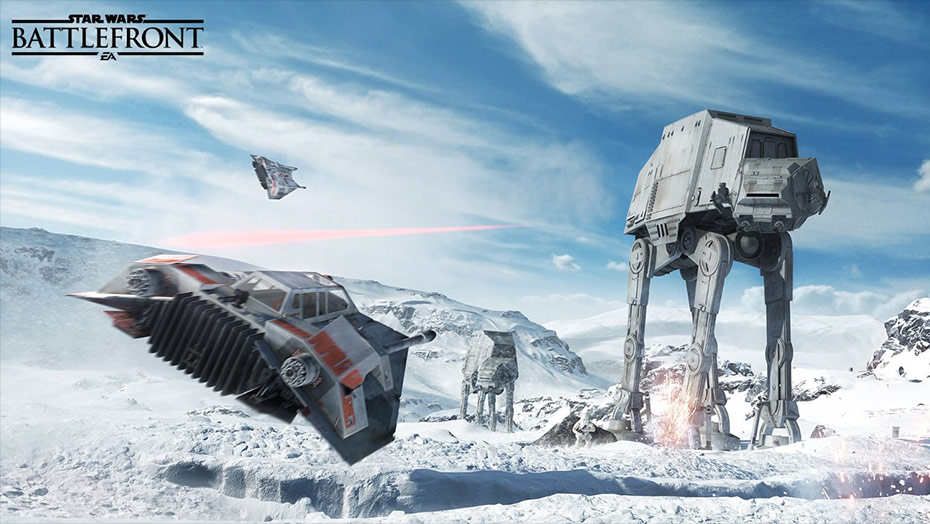 Battlefront: It's like this, just in motion.