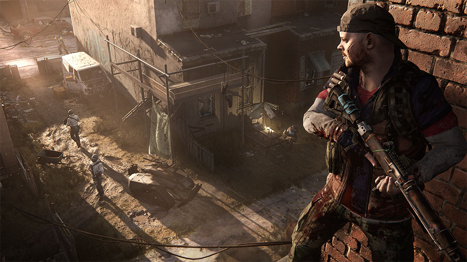 Homefront: Guerilla warfare actually means running away a lot.