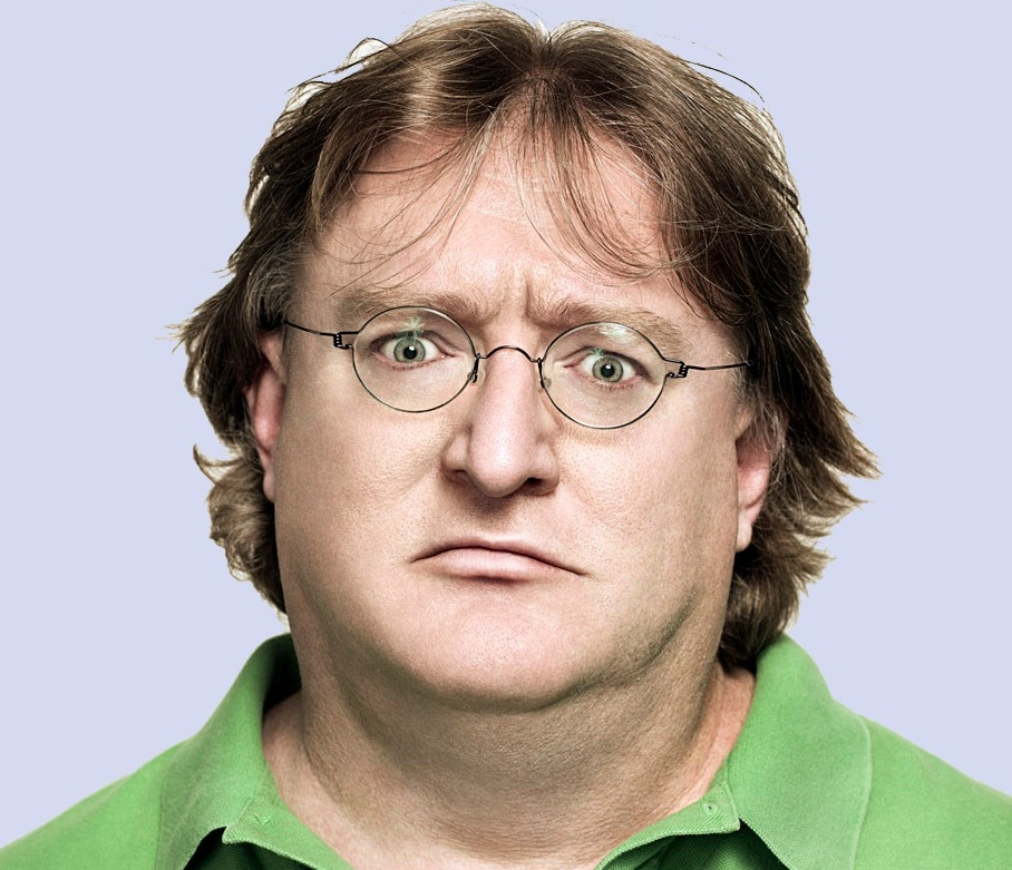 Gaben is staring into your soul. Your argument is invalid.
