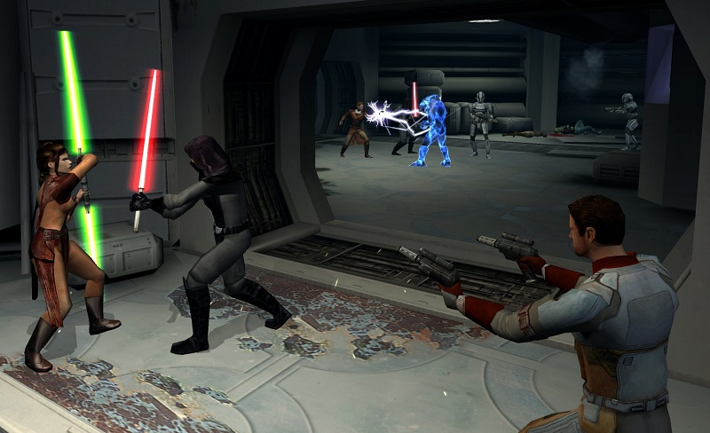 KotOR - one of the most highly rated Star Wars games and RPGs of all time was developed by BioWare and licensed by LucasArts.