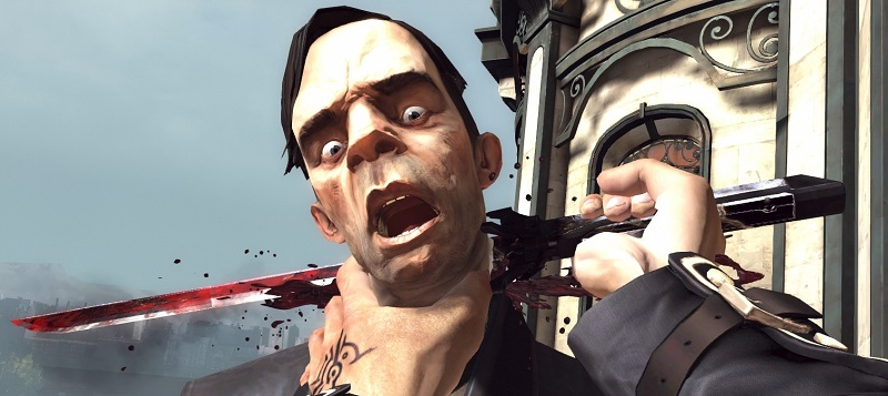 When choosing the path of violence, Dishonored can be quite unhinged in its depiction.