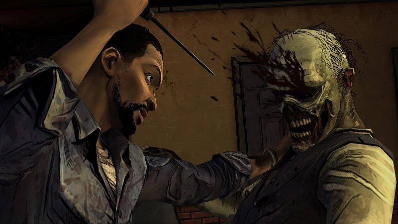 Despite only fleeting impressions, The Walking Dead's violence managed to pique my curiosity.