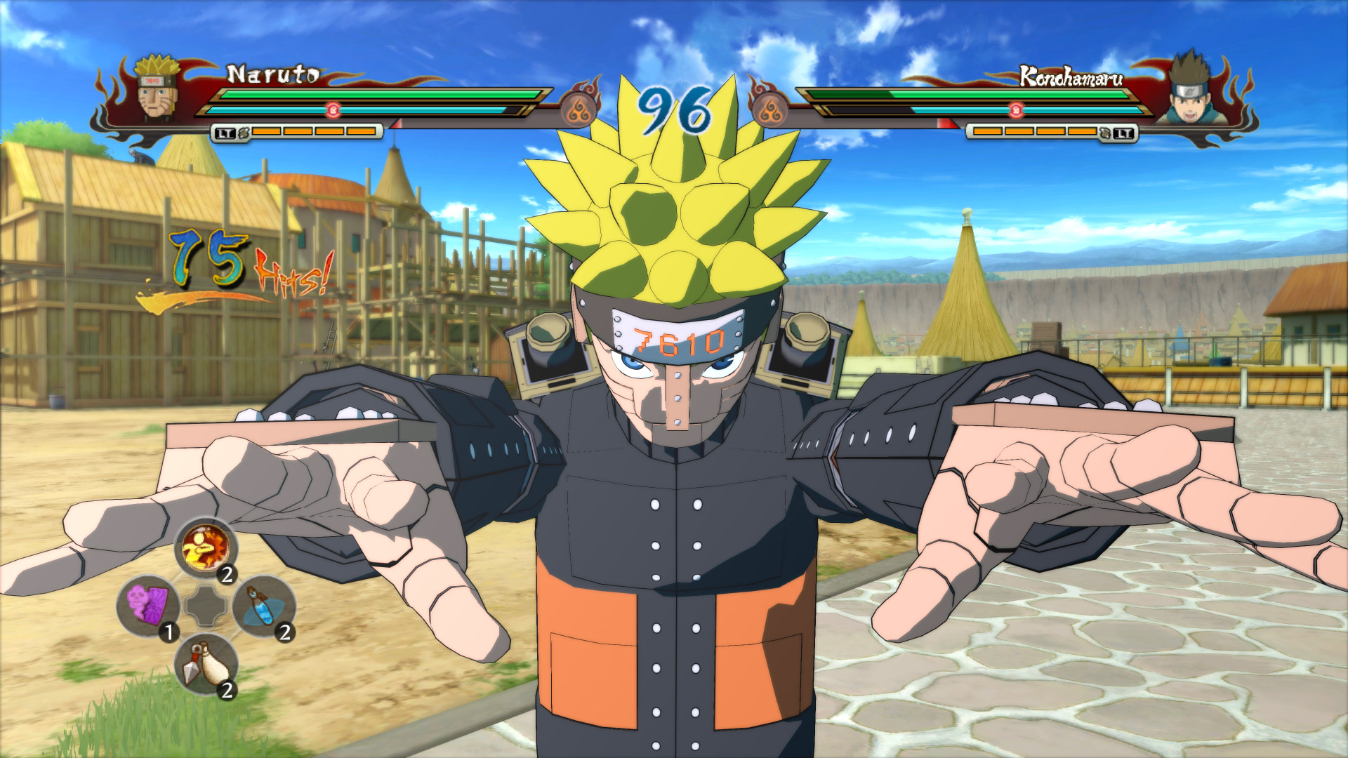 Narutominator is well-armed.