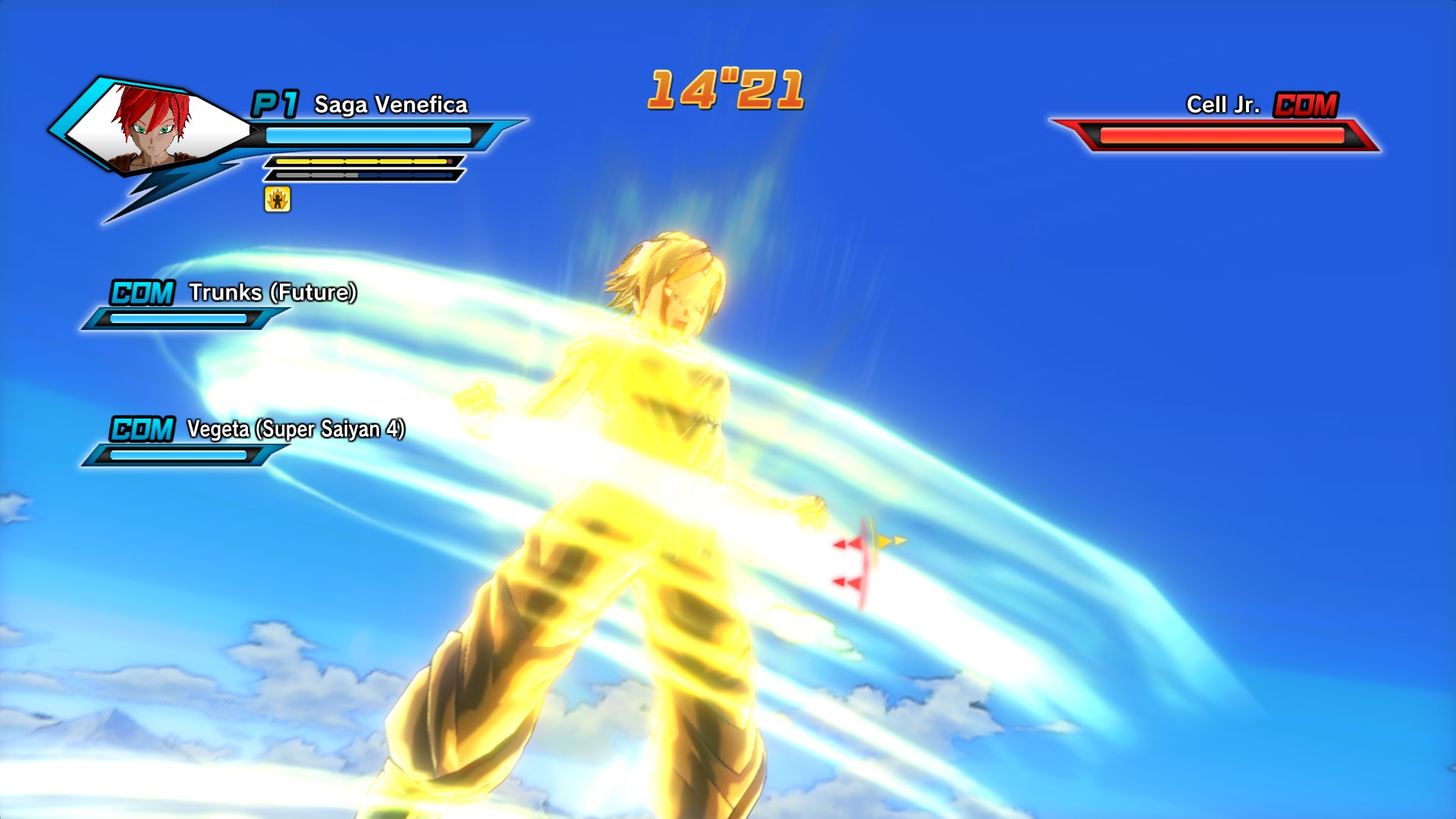 Going Super Saiyan, one of the game's thrills.